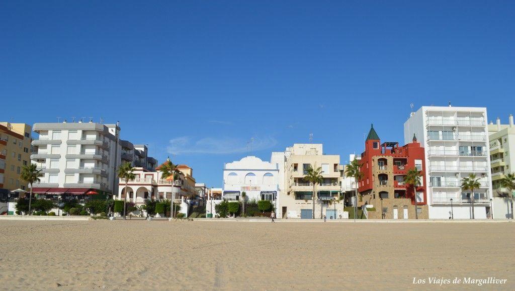 Playa de la Costilla en Rota - Los viajes de Margalliver